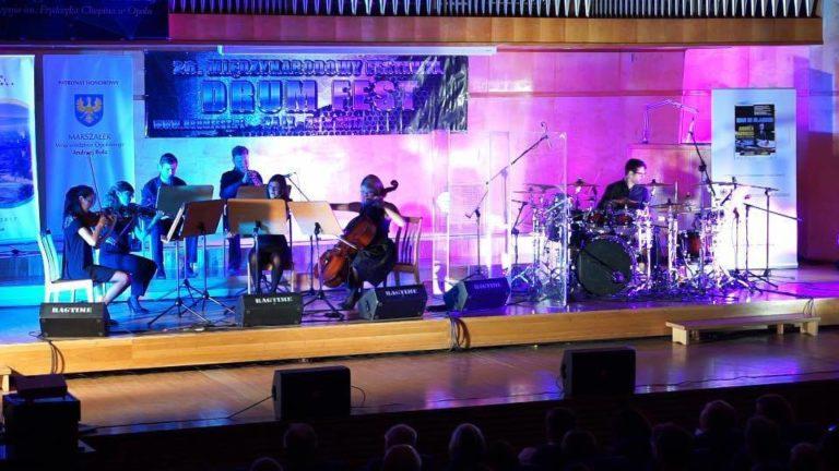 Koncert kwartetu zwłoskim perkusistą VADRUMem